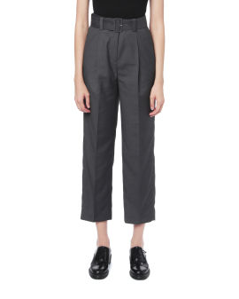 Belted trousers