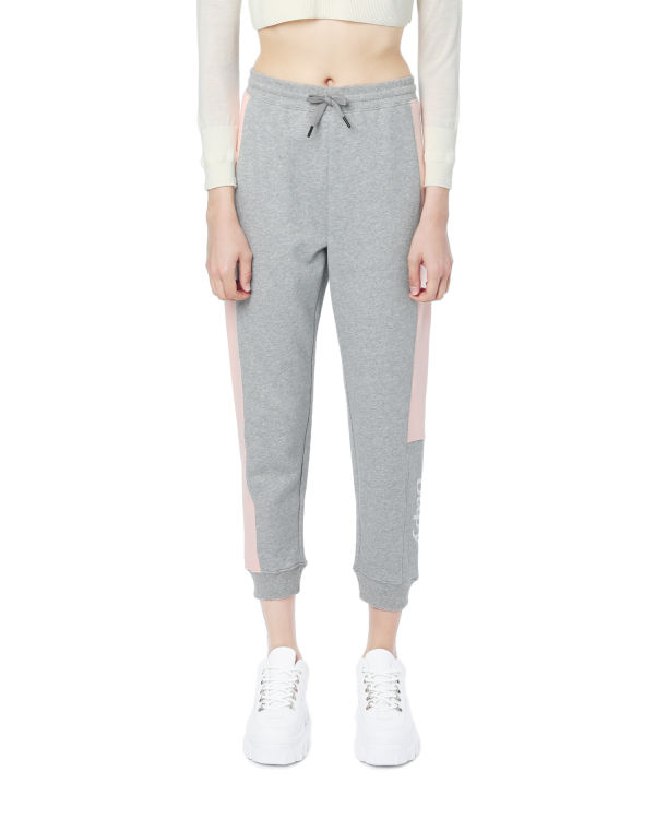 Contrast panelled sweatpants