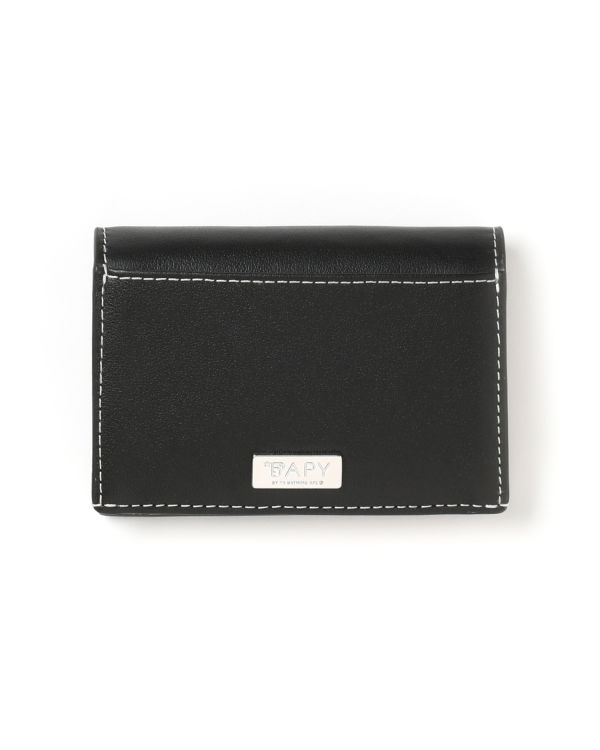 Logo embossed wallet