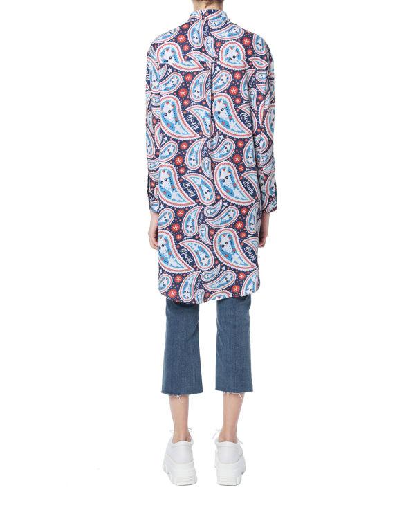 Paisley oversized skirt