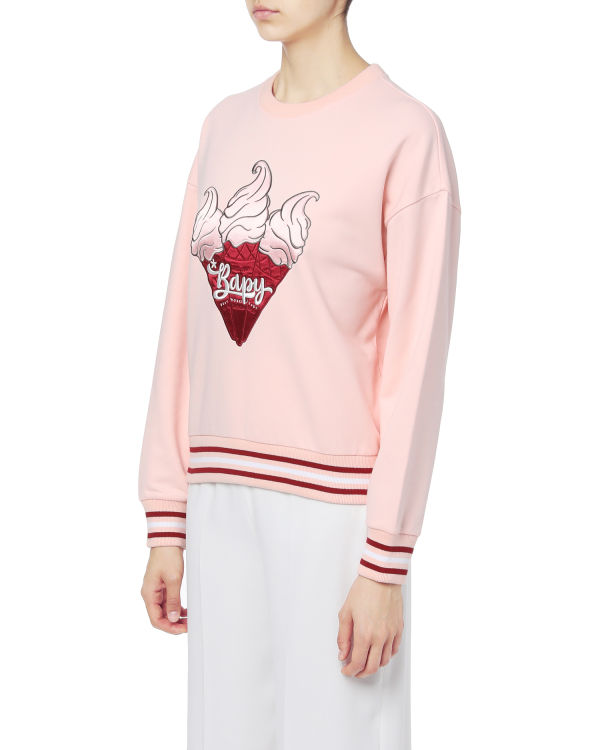 Ice cream graphic sweatshirt
