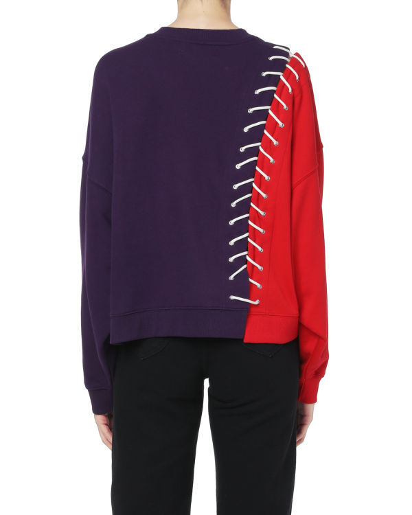 Side stitch sweatshirt