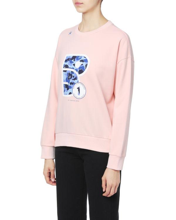 Camo emblem sweatshirt