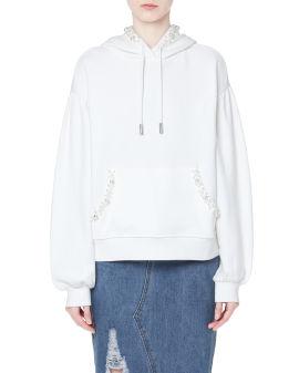 Embellished hoodie