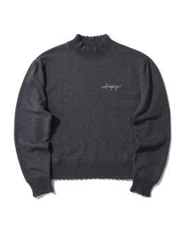 Logo turtleneck sweatshirt