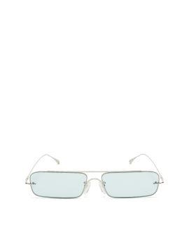 Narrow rectangular sunglasses