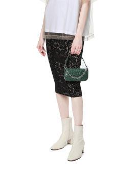 Mini rachel crocodile shoulder bag