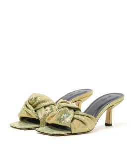 Lana disco heels