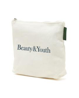 Logo print pouch