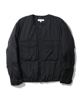 Patch pocket zip jacket