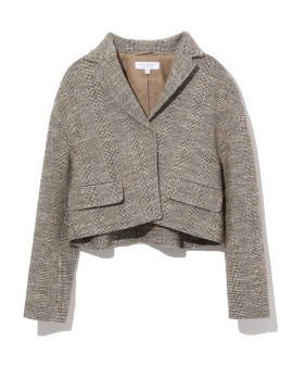 Cropped blazer jacket