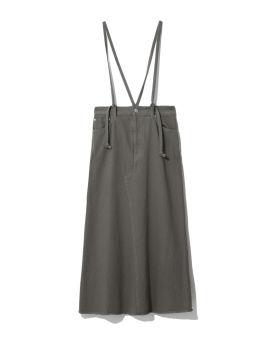 Suspender strap skirt