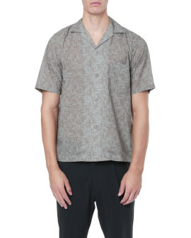 All-over patterned shirt