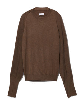 Knit top and cardigan set