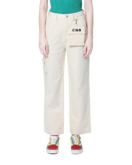 Mini purse keychain pants