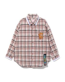 Teddy flannel shirt