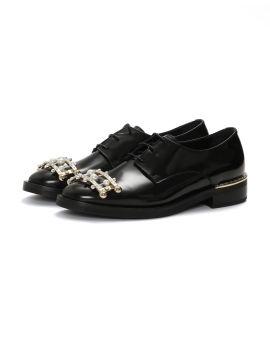 Enrico jewel leather Derbies