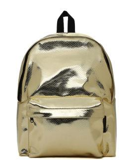 Textured metallic bag
