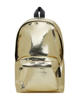 Mini textured metallic bag