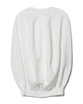 Balloon knit sweater