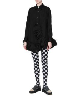 Polka-dot leggings