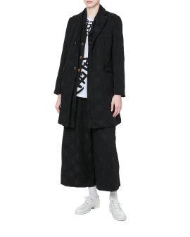 Tonal patterned coat