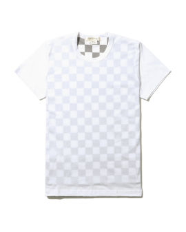 Checked inner layer tee