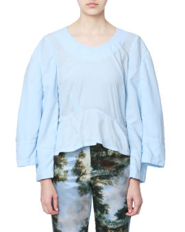Double sleeves top