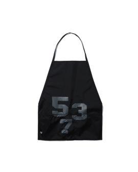 Lettering apron dress