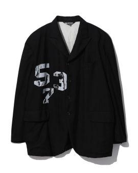 Numbered blazer