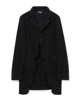 Cut-out speckle coat