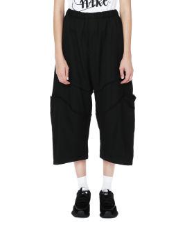 Panelled 3/4 pants