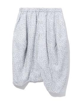 Cropped drop crotch pants