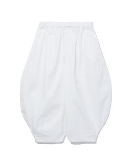 Cropped balloon pants