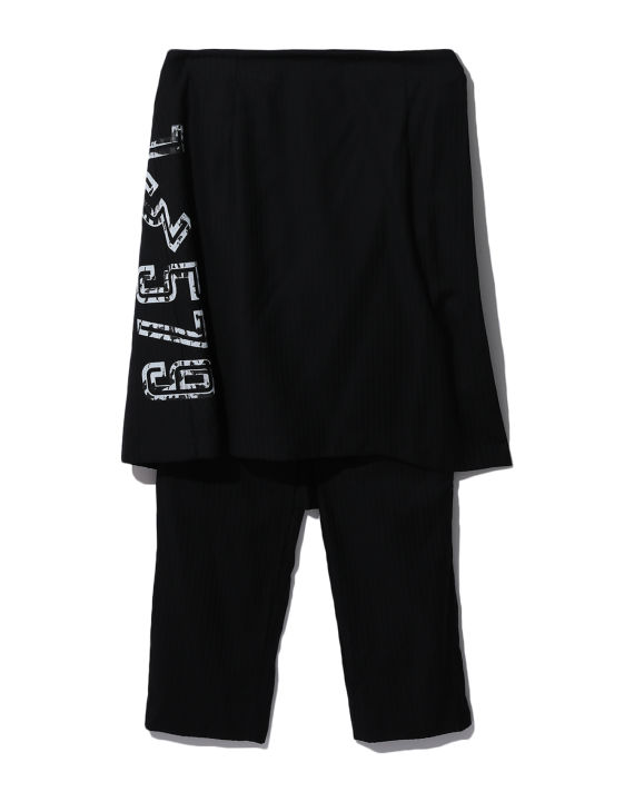 Numbered layered pants image number 0