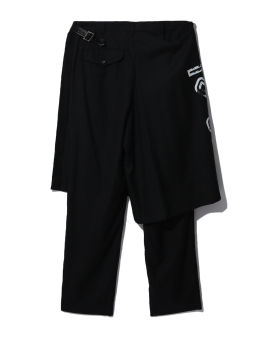 Numbered layered pants