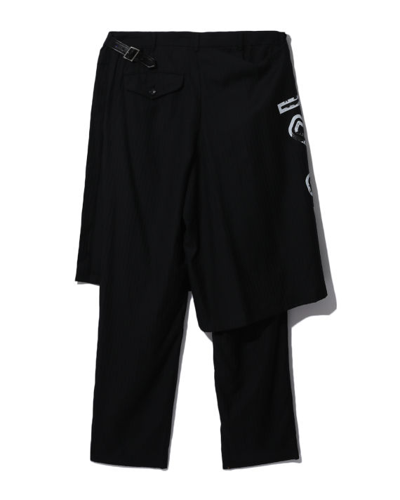 Numbered layered pants image number 1