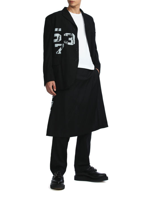 Numbered layered pants image number 2