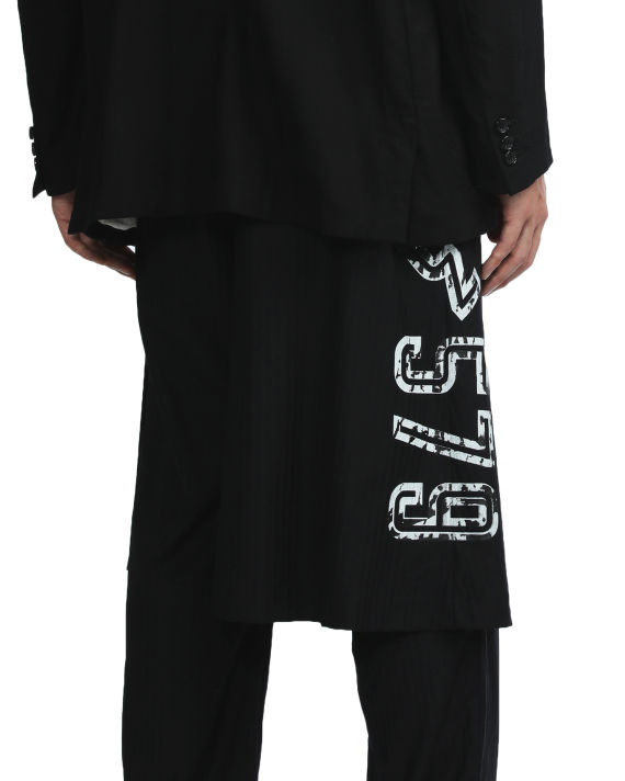 Numbered layered pants image number 5