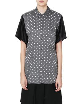 Polka-dot pocket shirt