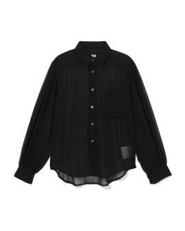 Semi-sheer shirt