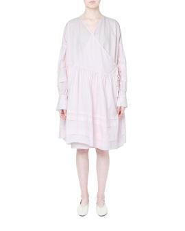 Amalie wrap dress
