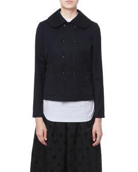 Peter pan collar jacket