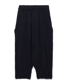 Loose fit cropped pants