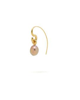 Pearl hook single earring
