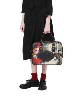 Cruella graphic leather bag