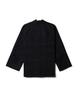 Tweed panel jacket