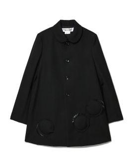 Ring accent coat