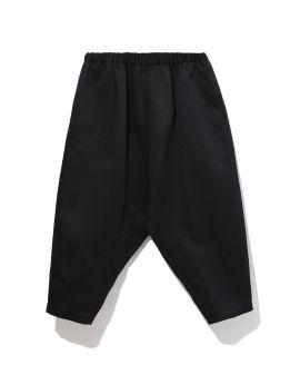 Elasticated drop crotch pants