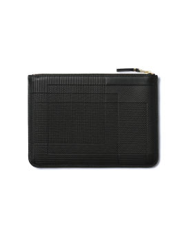 Textured block coin pouch